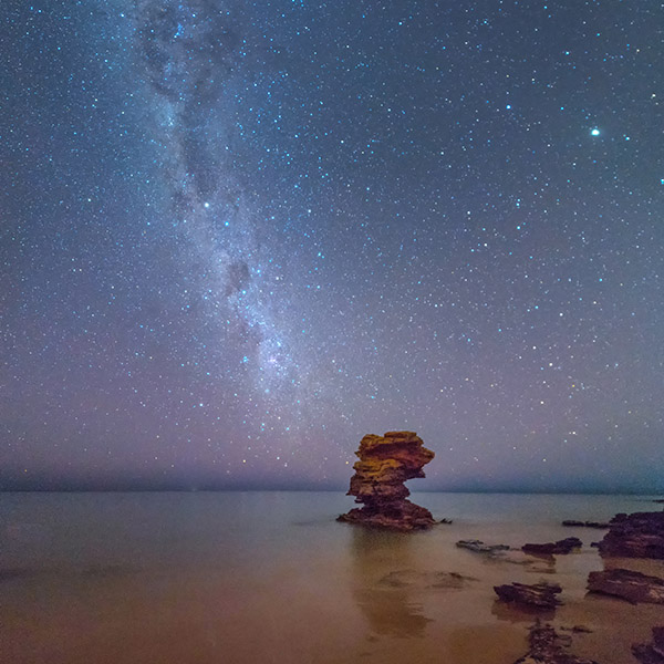 Learn how to take beautiful Milky Way vertical panoramas on a Night Sky Workshop